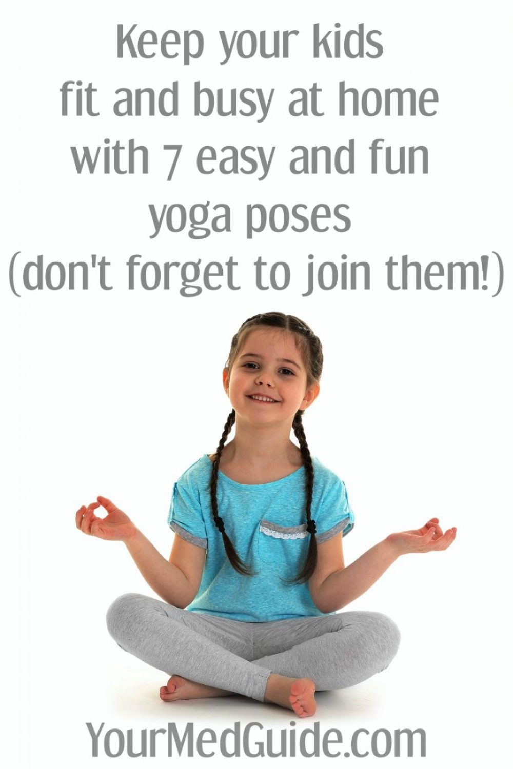 Easy yoga poses for kids to do at home