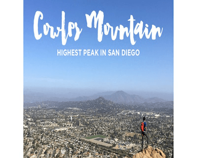 Get Motivated with a Community Hike Up Cowles Mountain!