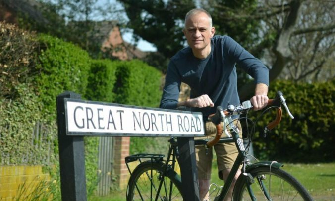 Steve Silk on the Great North Road