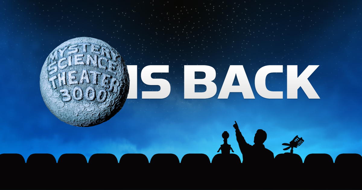 Mystery Science Theater 3000 Lives Again – The New York MST3K Screening & Afterparty