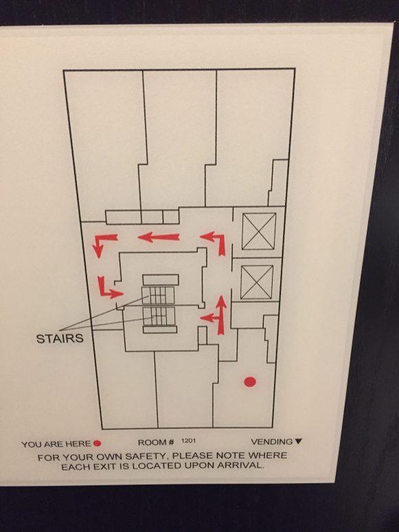 Six rooms per floor