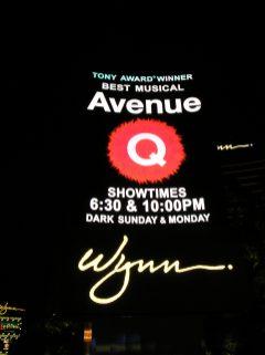Avenue Q at the Wynn