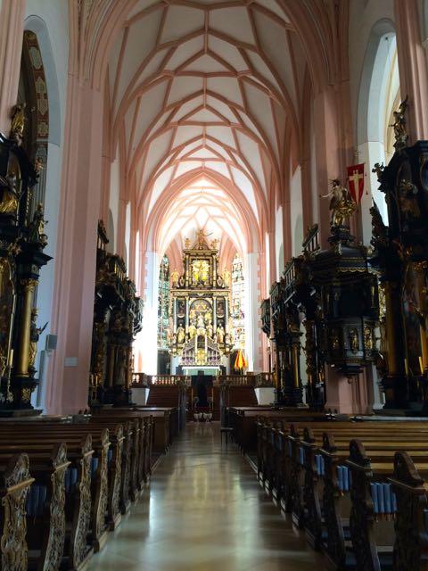 Mondsee Church - Inside