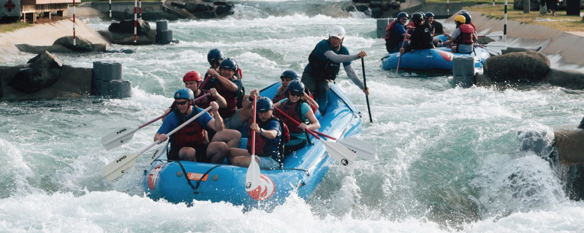 Adventure Awaits: Go Rafting On Some Incredible Man Made Rapids