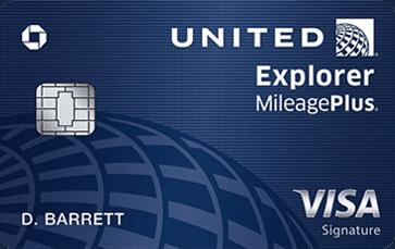 United Explorer Card (new)