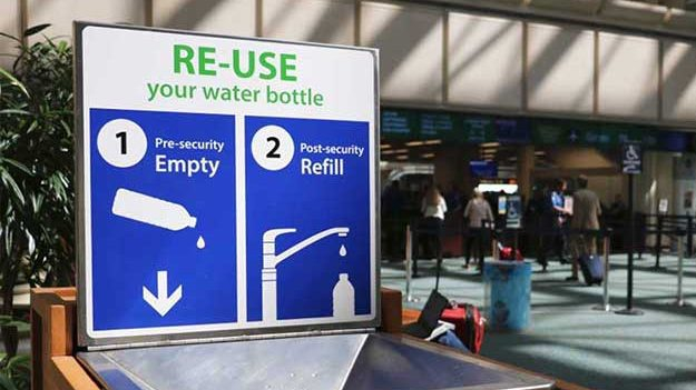 Airports Are Offering A Way To Bring Your Water Bottle Through Security Checkpoints