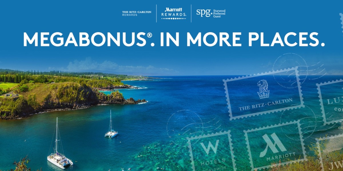 Sign Up Now For Marriott's Fall/Winter Megabonus Promotion