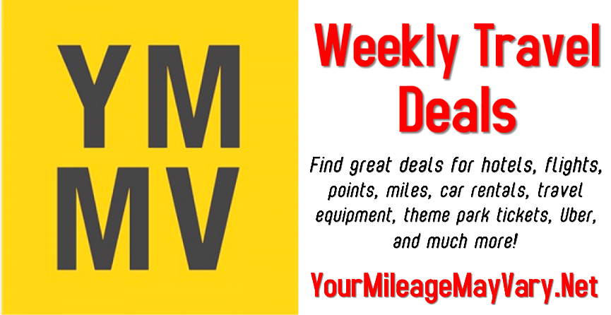 YMMV Travel Deals: Tuesday., Jan. 8, 2019