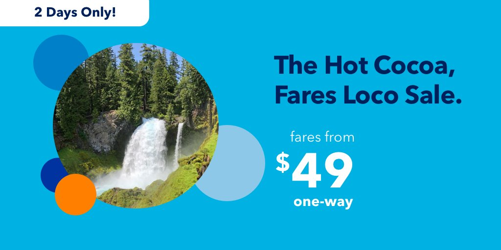 """Jetblue's """"Hot Cocoa, Fares Loco"""" Sale Is Going On RIGHT NOW – Travel Cheap For The New Year!"""