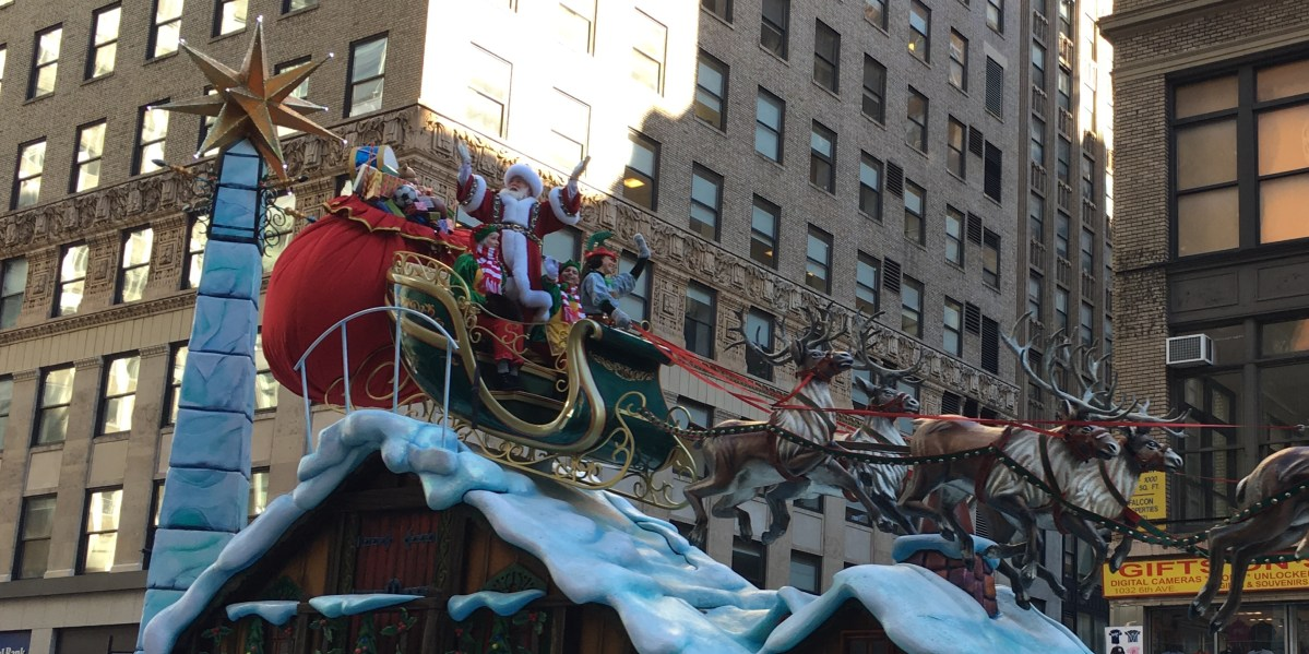 How We Went To The Macy's Thanksgiving Day Parade With Miles & Points (and $22.40)