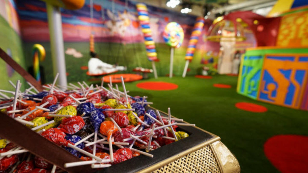 A Museum Devoted To, And Made Almost Entirely Of CANDY? Sweet!