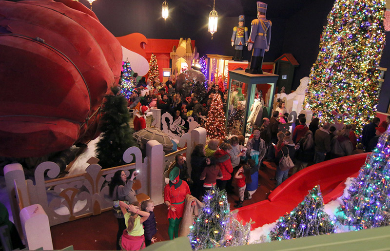 Castle Noel: The Largest Indoor, Year-Round Christmas Entertainment Attraction in the U.S.