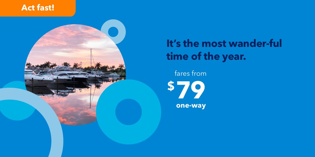 """Jetblue's """"It's The Most Wander-Ful Time Of The Year"""" Flash Sale"""