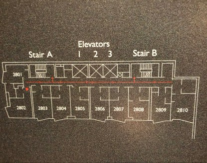 AC Hotel Floor Map
