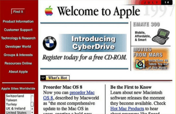Apple in 1996