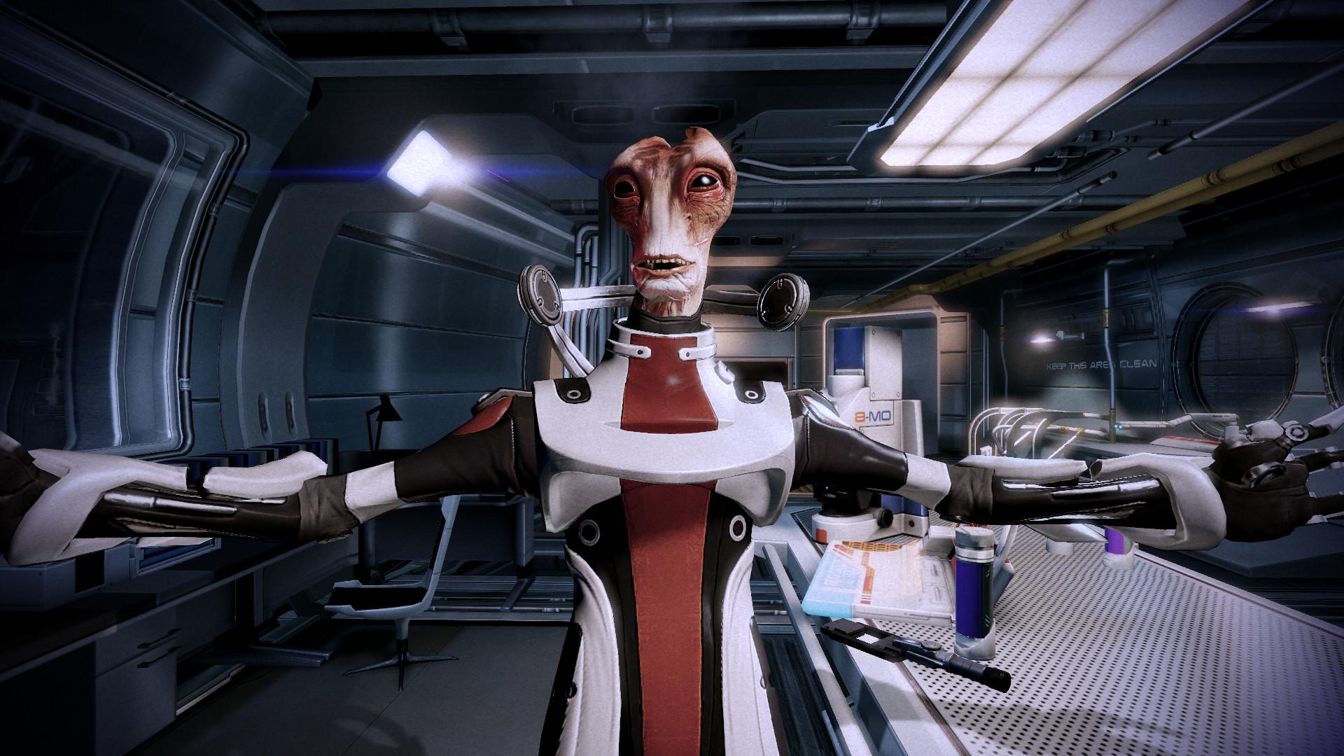 Replaying Mass Effect 2