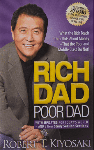 Book cover of Rich Dad Poor Dad