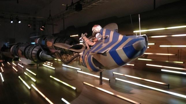 original models of spaceships