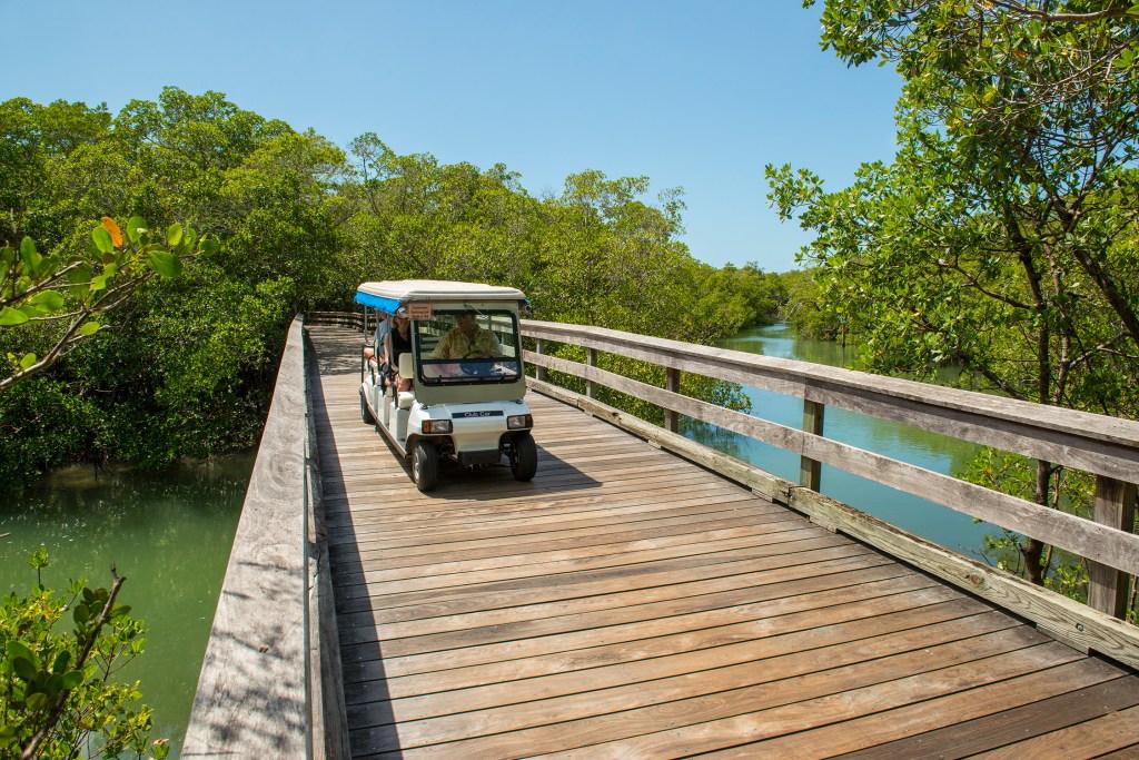 Pelican Bay Community -Tram and Boardwalk