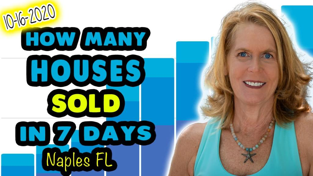 How many houses sold in Naples Florida
