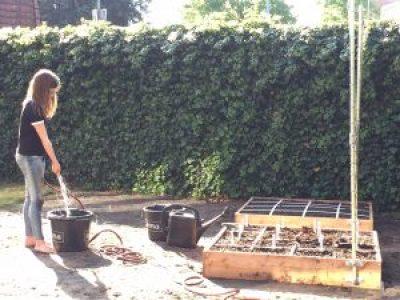 Draining mix Square Foot Gardening
