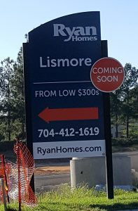 Lismore in Matthews by Ryan Homes