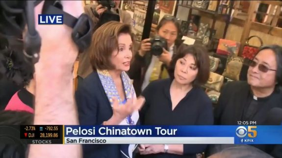 IN LATE FEBRUARY, NANCY PELOSI ENCOURAGED LARGE GROUPS TO ...