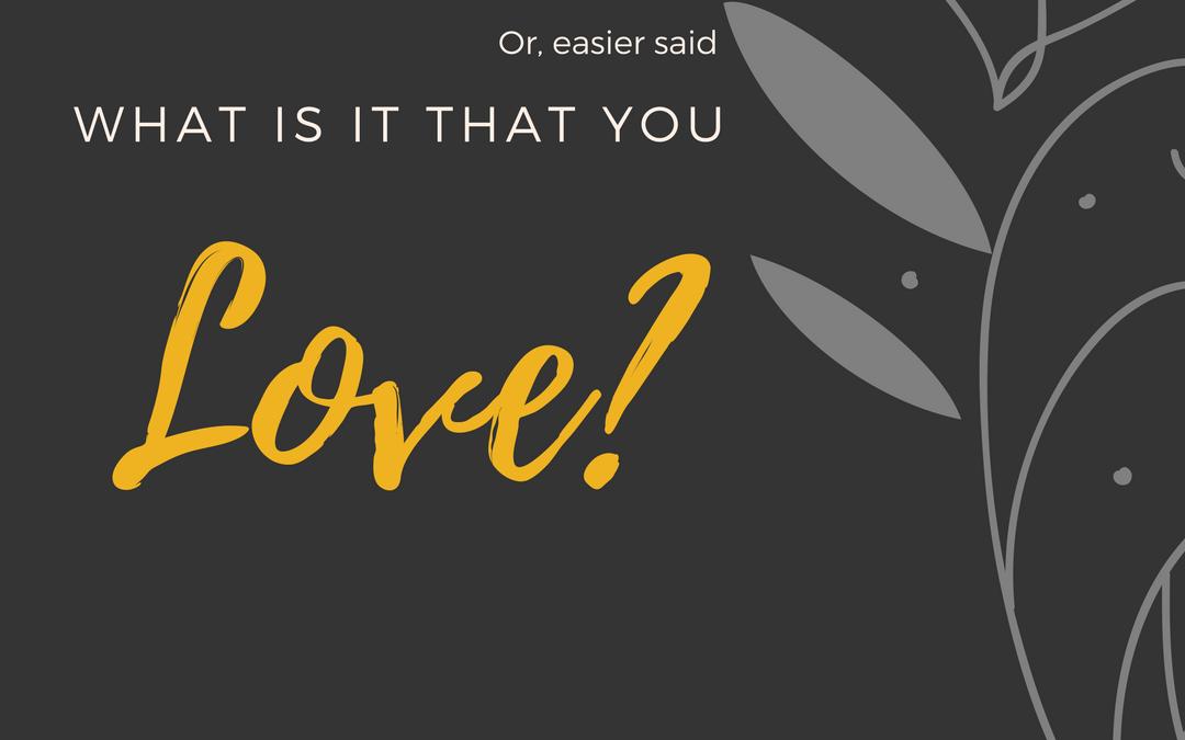 Maak jij van jouw passie jouw werk?