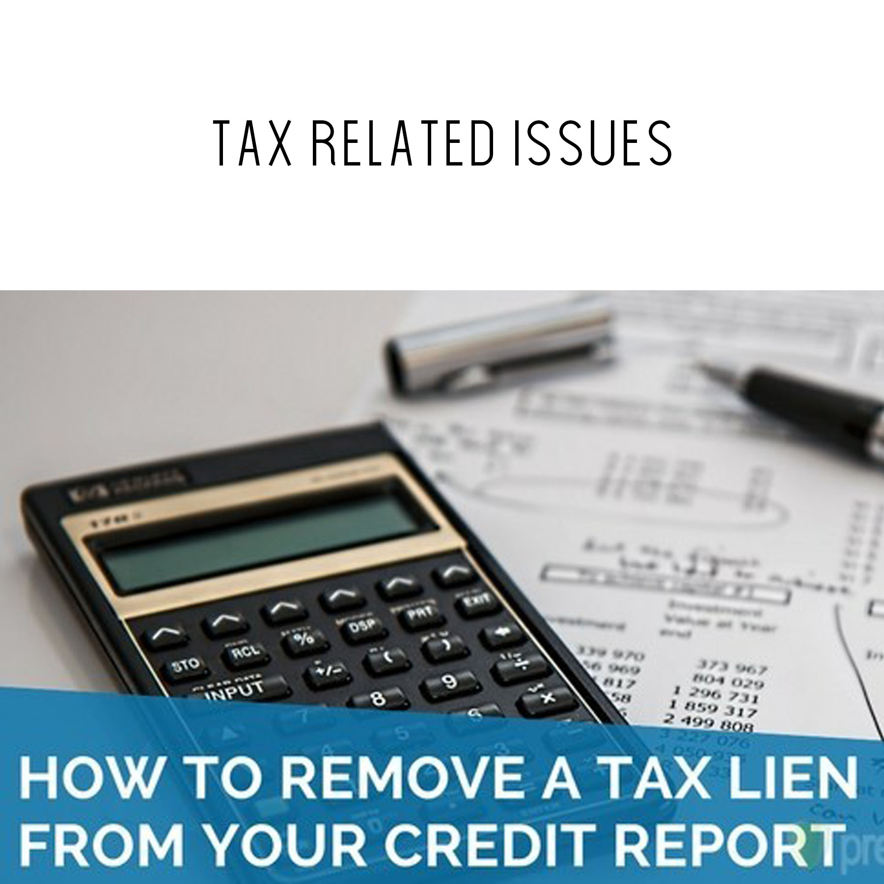 Tax Issues