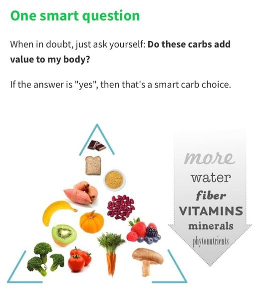 What are smart carbohydrates?
