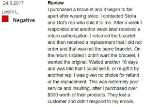 stella and dot complaints