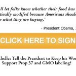 Help us pass this country's first GMO labeling law – Proposition 37,