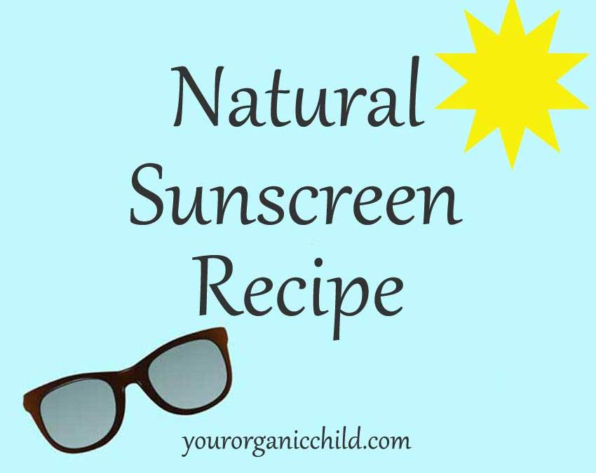Make Your Own Natural Sunscreen