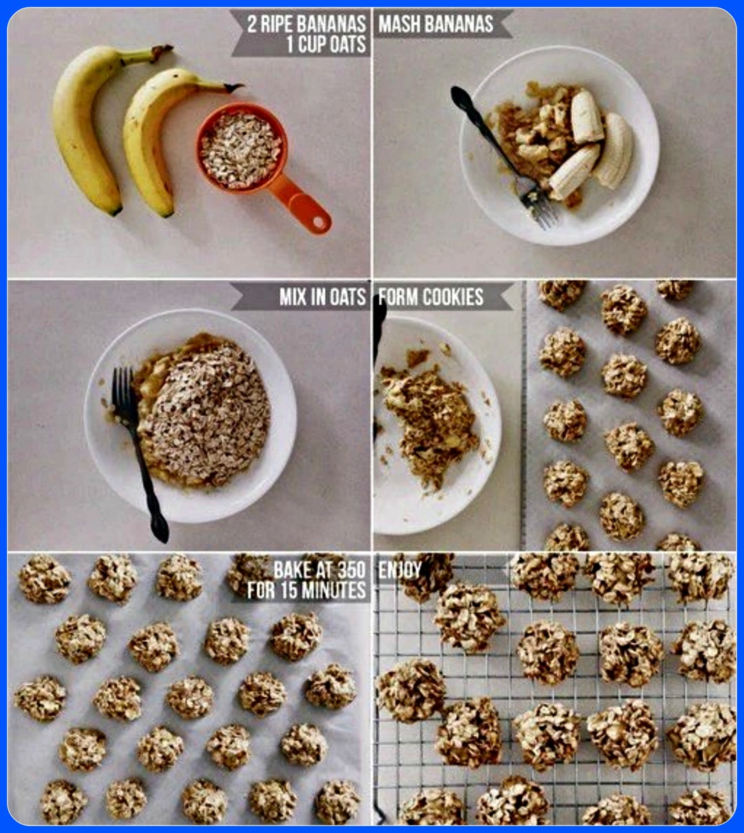 Easy Banana and Oat Balls - Kids Recipes