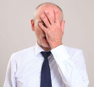 math error man slapping head