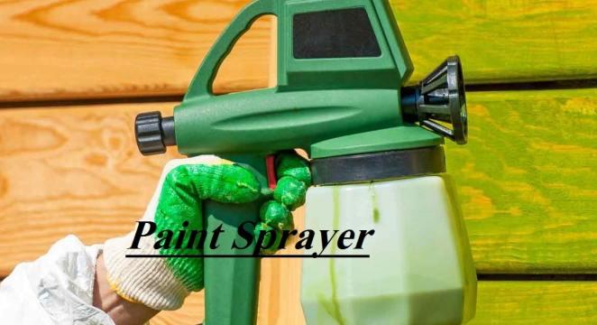 Handheld Airless Paint Sprayer