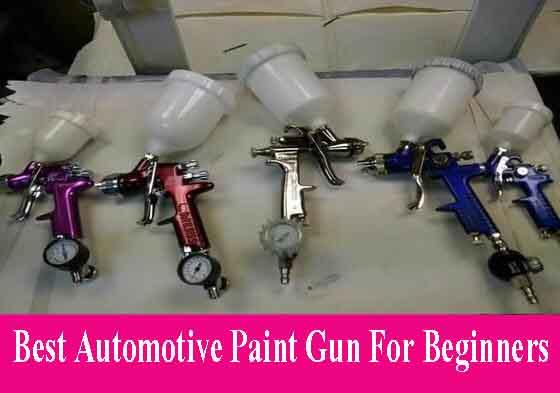 Automotive Paint Gun For Beginners