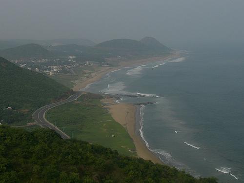 The Tour - Day 1 ( Kailasagiri and Rishikonda Beach) (1/6)