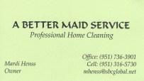 A Better Maid Service