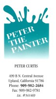 Peter The Painter