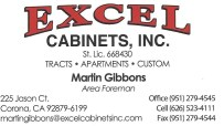 Excel Cabinets