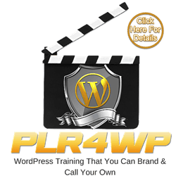 plr for wordpress website logo image
