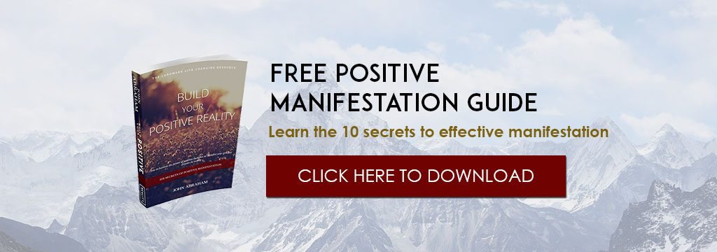 Build Your Positive Reality Free ebook download banner