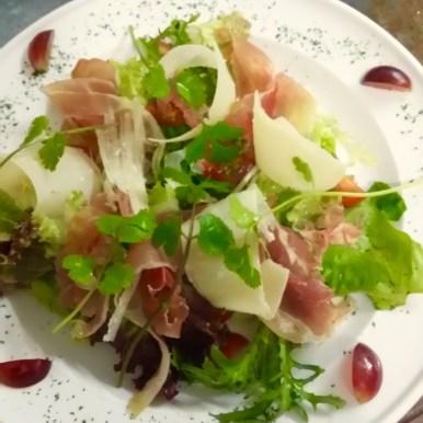 Prosciutto and Parmesan Salad