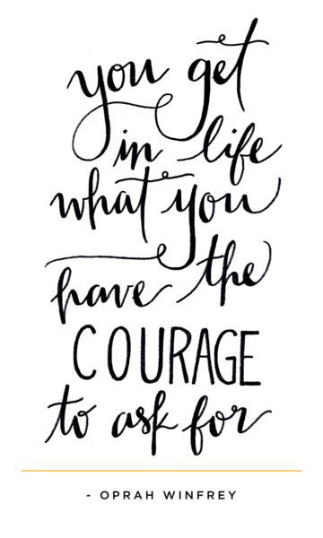 Courage Oprah