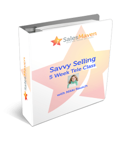 Savvy Selling Training Manual