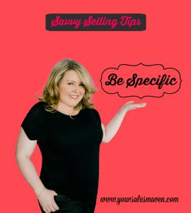 Savvy Sales Tip, Sales Training, Nikki Rausch