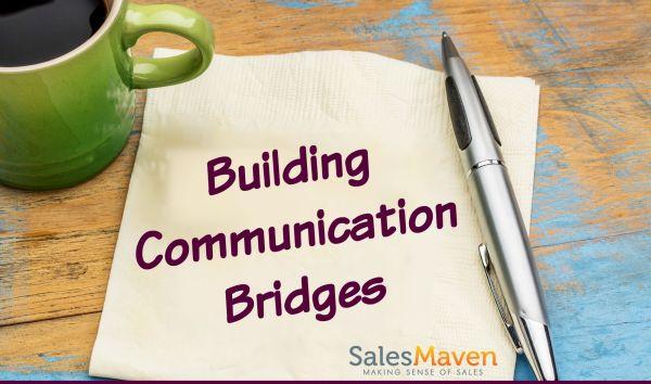 Live Workshop, Sales Training, Building Communication Bridges