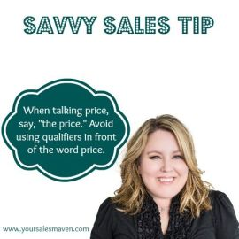 Savvy Selling, Talking Price, Negotiations, Sales