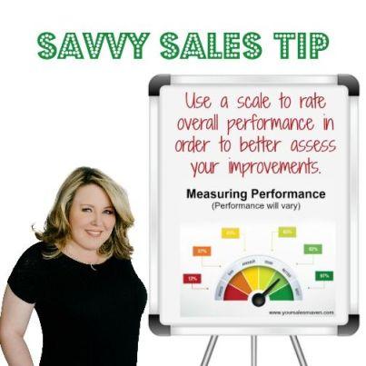 sales maven tips, evaluation, measuring performance